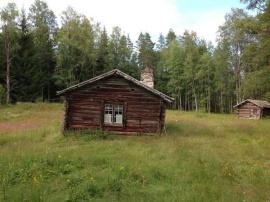 Bränntjärnstorpet i Grangärde finnmark. Foto: Göran Greider, DD.