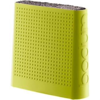 BISTRO knivblock grön/lime