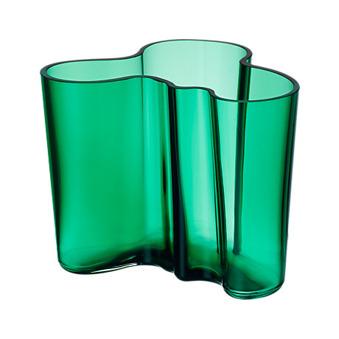 Iittala Aalto vas 160 mm Smaragd - Iittala Aalto vas 160 mm Smaragd