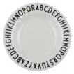 Design Letters Melamine Plate - Deign Letter Tallrik melamin