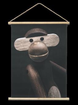 Kay Bojesen, Apa Foto Porträtt 40x56 cm -