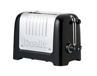 Dualit, Lite Gloss Brödrost 2 skivor svart - Dualit, Lite Gloss Brödrost 2 skivor svart