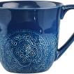 Cult Design, Orient Kaffemugg 30 cl vit - Cult Design, Orient Kaffemugg 30 cl blåbär