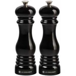 Le Creuset, Set med Salt- och Pepparkvarn 21 cm svart
