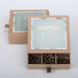 KOTTEN - Ett paket/9st
