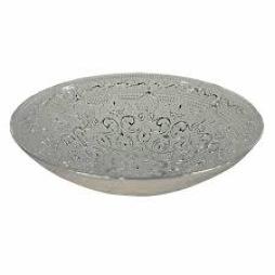 Nybridge, Piastrelle Fat Ø31cm silver