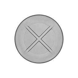 Kosta Boda, Bruk Assiett 19,5 cm grå