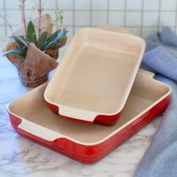 Le Creuset, Fatset 2-pack röd