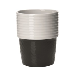 Rörstrand, Filippa K Mugg 2-pack 31 cl coal