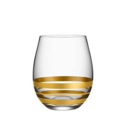 Orrefors, Per Morberg Exclusive Tumbler 4-pack 38 cl guld Limited Edition