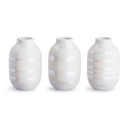 Kähler, Omaggio Vas miniatyr 3-pack pearl