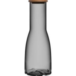 Kosta Boda, Bruk Karaff med eklock 1,35 L grå