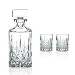 Nachtmann, Noblesse Karaff & 2 whiskyglas