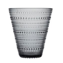 Iittala, Kastehelmi Vas 15,4 cm grå