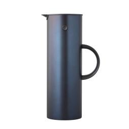 Stelton, EM77 Termoskanna 1 L steel mörkblå metallic
