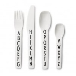 Design Letters Kids Cutlery Set Barnbestick