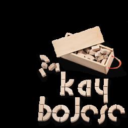 Kay Bojsen Alfabetklossar i trä