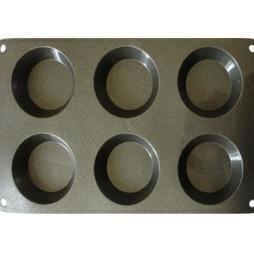 Patisse Silikon - muffinsform t/6 stk