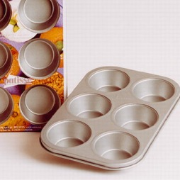 Patisse Silvertop - Muffinsform t/6 Stk