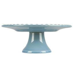 PotteryJo, Kak- & Tårtfat small, Dusty Blue