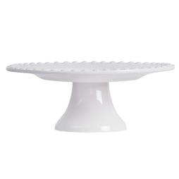 PotteryJo, Kak- & Tårtfat large, White