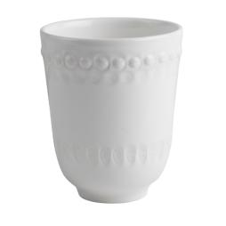 PotteryJo, Daisy mugg 35cl, White