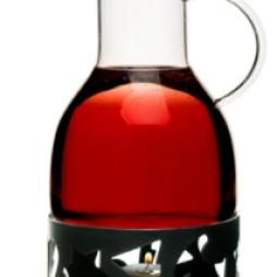 Sagaform, Glöggkanna 1,3 L med värmare svart