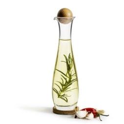 Sagaform, Oak Olje/Vinägerflaska 45 cl ek/glas