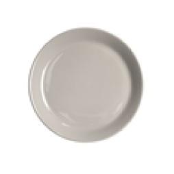 Rörstrand Höganäs Keramik Assiett med kant 20 cm kiselgrå