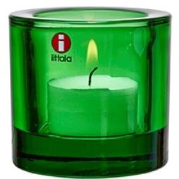 Iittala Kivi ljuslykta grön 6cm