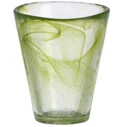 Kosta Boda Mine tumbler Lime