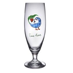 Kosta Boda Friendship öl glas True Love