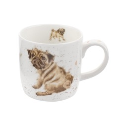 Pimpernel, Wrendale Mugg Pug Love 31 cl