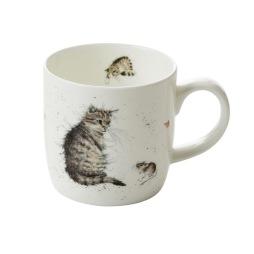 Pimpernel, Wrendale Mugg Katt och mus 31 cl