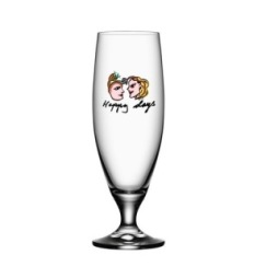 Kosta Boda, Friendship Happy Days Ölglas 50 cl