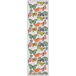 Ekelund, Löpare Fjärilar 35×120 cm