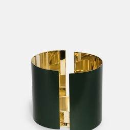 Infinity Ljushållare - Stor Mörkgrön