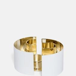 Infinity Ljushållare - Liten Vit