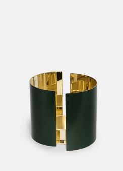 Infinity Ljushållare - Stor Mörkgrön - Infinity Ljushållare - Stor Mörkgrön
