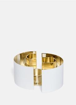 Infinity Ljushållare - Liten Vit - Infinity Ljushållare - Liten Vit