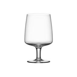Kosta Boda Bruk stort glas på fot, 4-pack