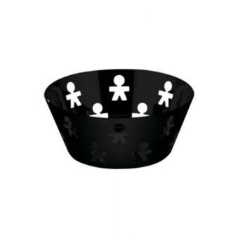 Alessi, Girotondo fruktskål svart - Alessi fruktskål svart