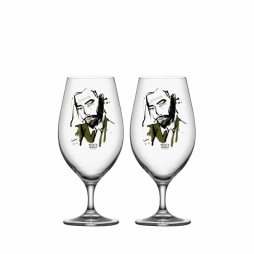 Kosta Boda, Want Him ölglas 40cl, 2-pack