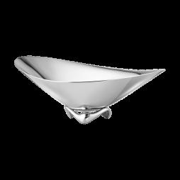 KOPPEL wave skål – rostfritt stål, liten