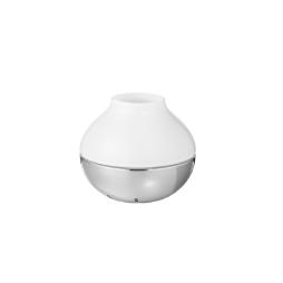 KOPPEL hurricane ljushållare – rostfritt stål och glas, liten