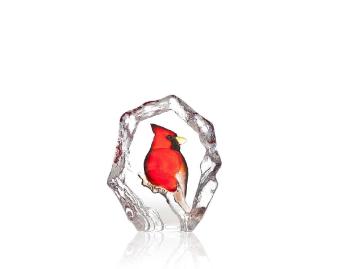Målerås, Wildlife kardinal handmålad -