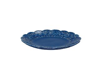 Orient assiett blåbär -