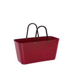 Hinza väska, stor vinröd