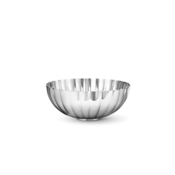 Bernadotte bowl stainless steel medium 175 mm, Georg Jensen