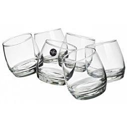 Club Whiskyglas 20cl 6-p rundad botten
